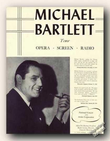 Michael Bartlett Photo Opera Antique (1942)