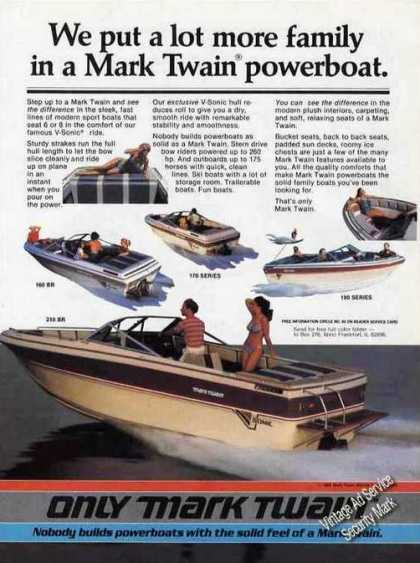 Mark Twain Powerboats West Frankfort Il (1985)