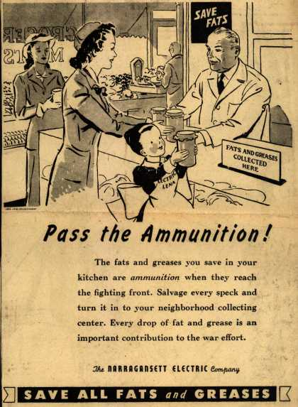 Narragansett Electric Co.'s Fat and Grease – Pass the Ammunition (1943)
