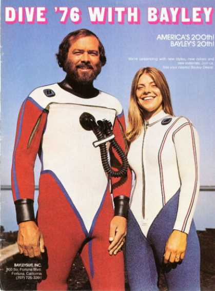 Bayley Bayleysuit Diving Scuba Suit (1976)