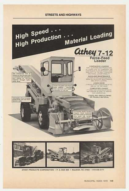 Athey 7-12 Force-Feed Loader Photo (1978)