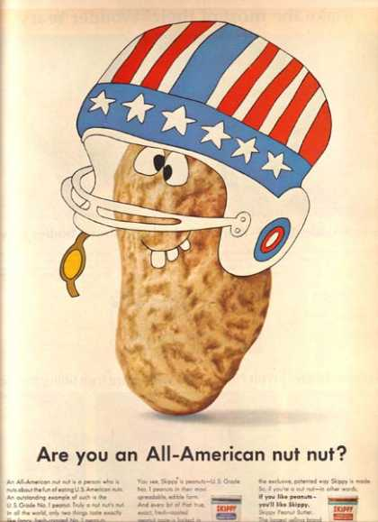 Skippy&#8217;s &quot;Are you an All-American nut nut&quot; (1966)