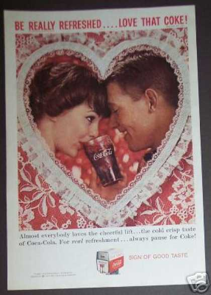 Coca-cola Love That Coke (1959)