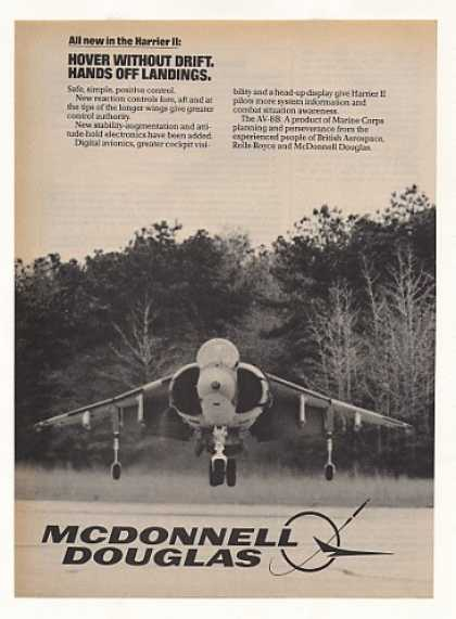 McDonnell Douglas Harrier II Aircraft Photo (1983)
