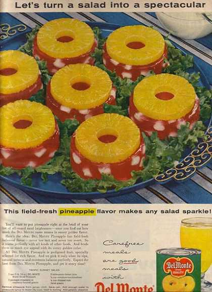 Del Monte's Sliced Pineapples (1957)