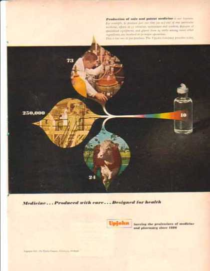Upjohn Company – Medicine, Designed for Health (1951)