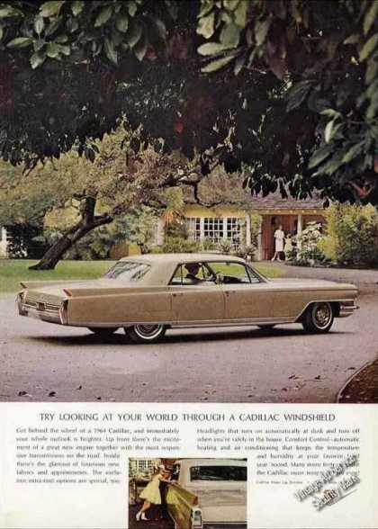 Cadillac Try Looking at Your World Car (1964)