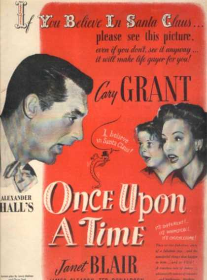 Once Upon A Time (Cary Grant) (1944)