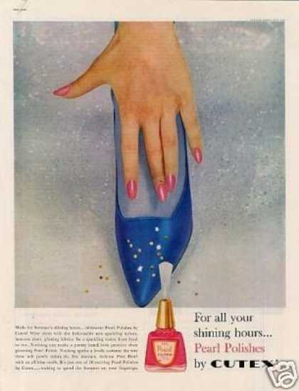 Cutex Pearl Nail Polish (1960)