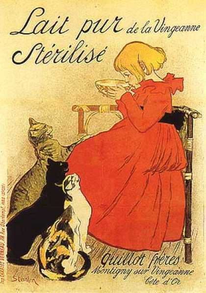Lait Pur by Theophile Steinlen (1894)