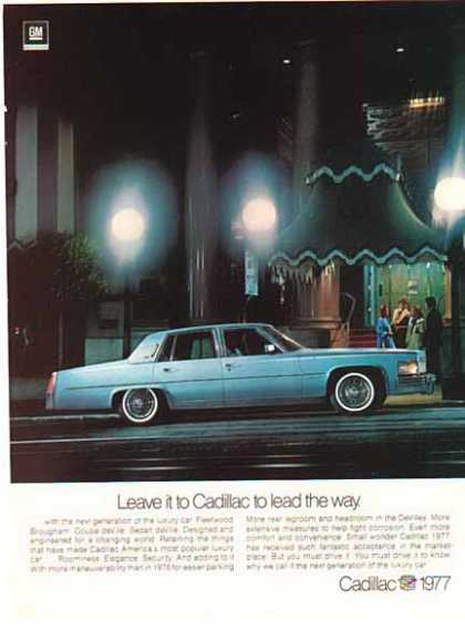 Cadillac Car – Blue / General Motors – Sold (1977)