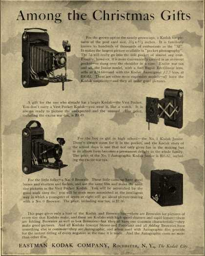 Kodak – Among the Christmas Gifts (1920)