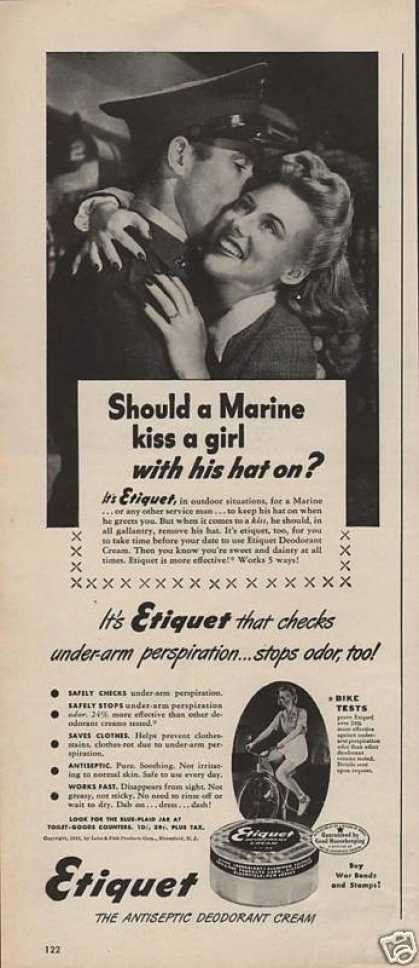 Etiquet Deodorant for Women (1943)