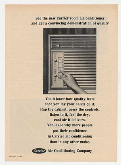 Carrier Room Air Conditioner Feel Quality Photo (1965)