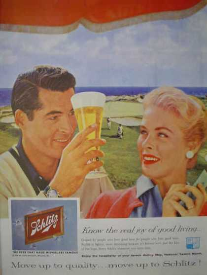 Schlitz Beer Good Living Golf Theme (1959)