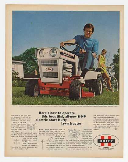 Huffy Caprice Lawn Tractor & Tourister Bicycle (1970)