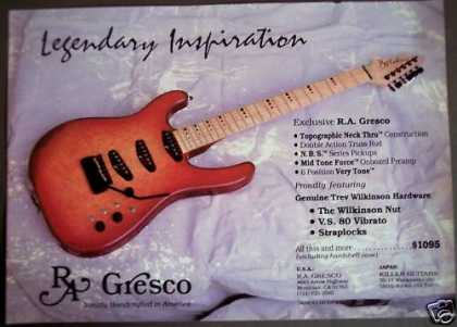 R.a. Gresco Guitars Music (1988)