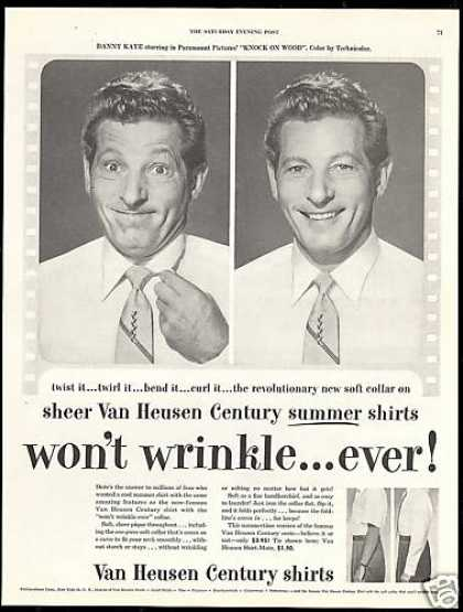 Danny Kaye Photos Van Heusen Fashion Shirt (1954)
