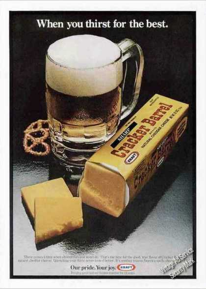 "Cracker Barrel Cheese ""Thirst for the Best"" (1978)"