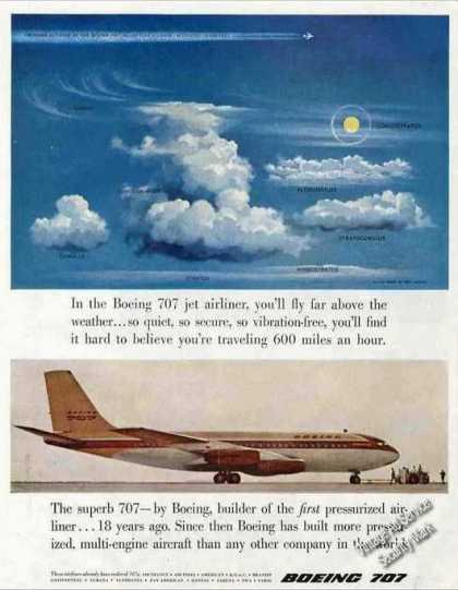 Boeing 707 Jet Airliner Collectible (1957)