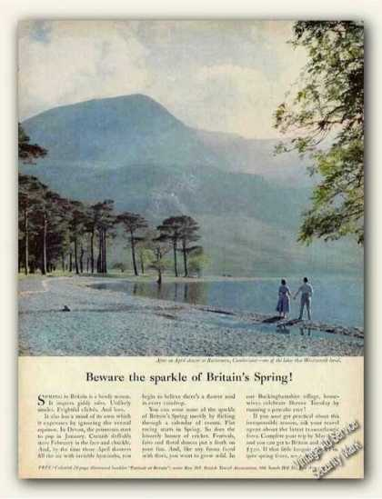 Buttermere, Cumberland Sparkle Britain's Spring (1961)