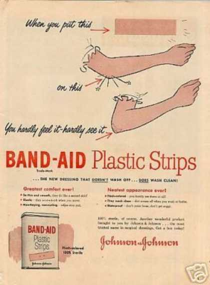 Johnson & Johnson Band-aid (1951)