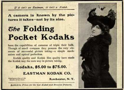 Kodak's Folding Pocket cameras – The Folding Pocket Kodaks (1902)