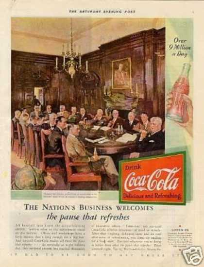 "Coca-cola Color Ad ""The Nation's Business... (1931)"