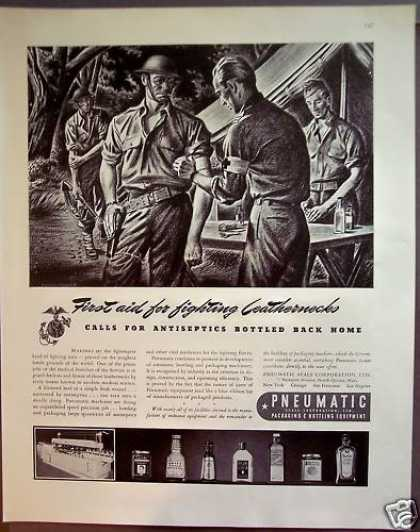 Pneumatic Scale Corp Bottling Equipment Wwii (1942)