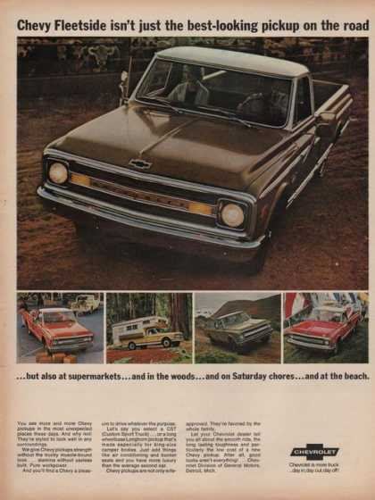 Chevrolet Fleetside Pickup Truck (1969)
