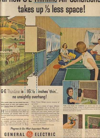 General Electric's Thinline Air Conditioners (1956)