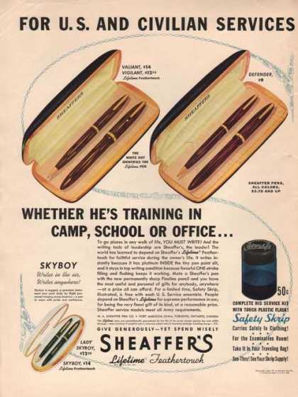 Sheaffers Lifetime Feathertou (1941)