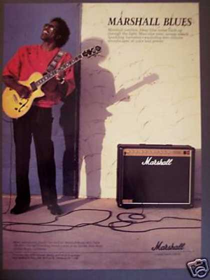Buddy Guy Photo Marshall Blues Amp (1988)