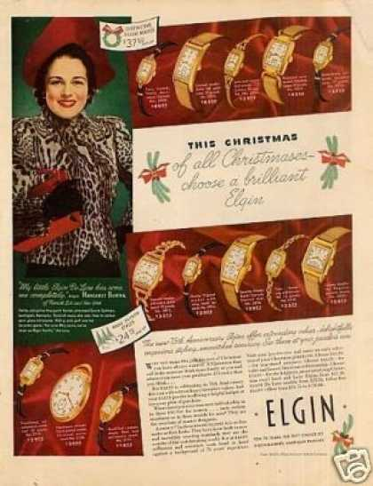 Elgin Watches Color (1939)