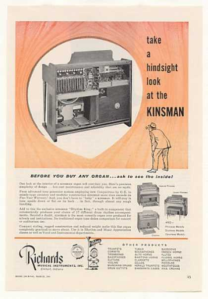 Richards Kinsman Organ Look Inside (1963)