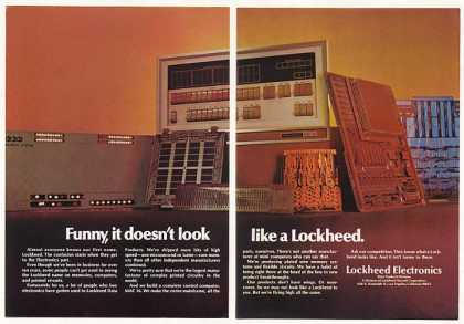 Lockheed Electronics MAC 16 Computer (1970)