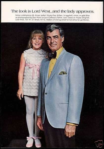 Rory & Lorri Calhoun Lord West Fashion (1969)