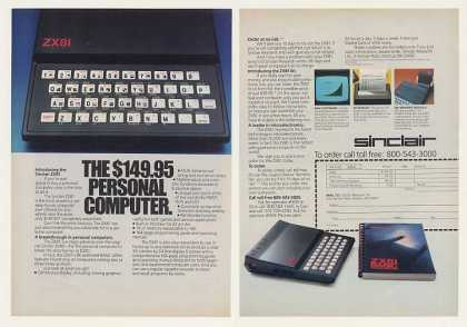 Sinclair ZX81 Personal Computer 2-Page (1982)