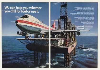 United Aircraft Boeing 747 Offshore Oil Rig 2-P (1970)