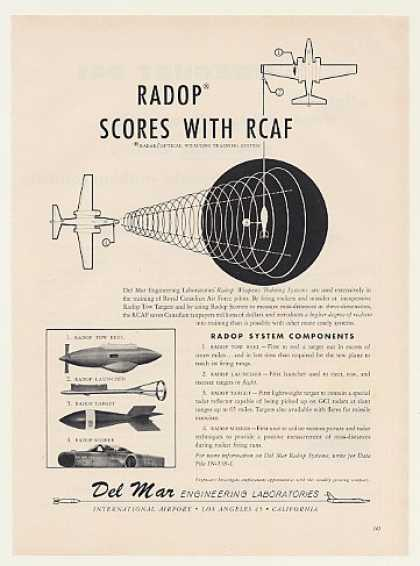 Del Mar RADOP Weapons Training System (1960)