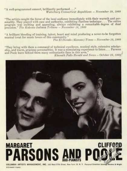 Margaret Parsons & Clifford Poole Duo-piano (1961)