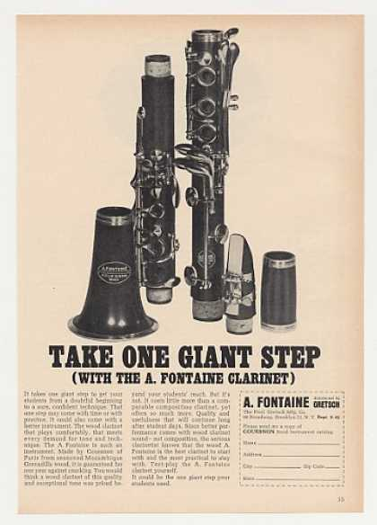 Couesnon A Fontaine Clarinet Photo (1964)