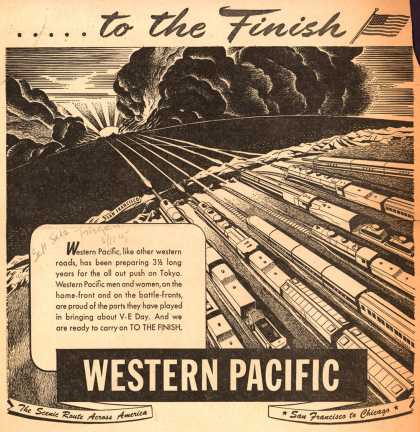 Western Pacific – ...to the Finish (1945)