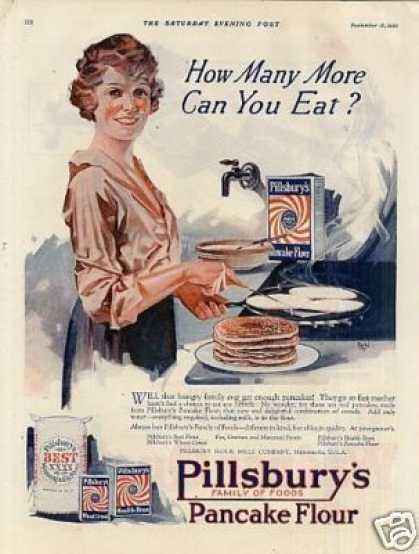 Pillsbury's Pancake Flour Color (1920)