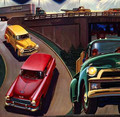 Chevrolet Advance Design Trucks (1955)