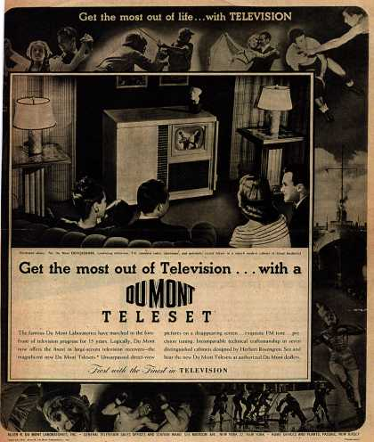 Allen B. DuMont Laboratorie's Television – Get the most out of life... with Television (1947)