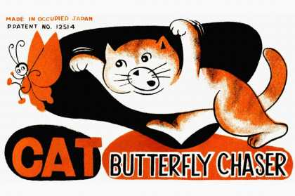 Cat Butterfly Chaser
