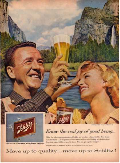 Schlitz Beer Ray Milland Markham Mountain (1959)