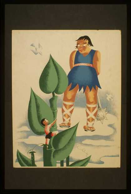 [Jack and the beanstalk]. (1936)