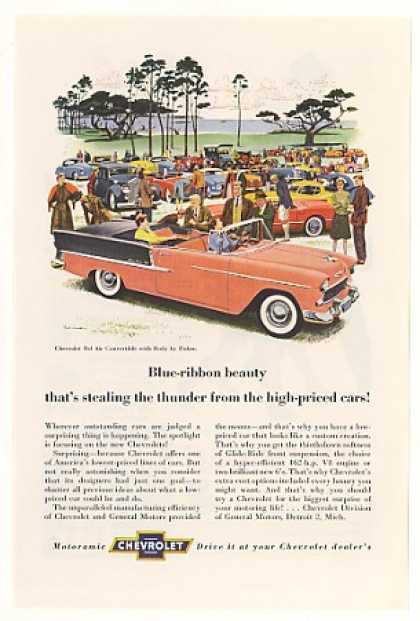 Chevy Bel Air Convertible Car Show (1955)